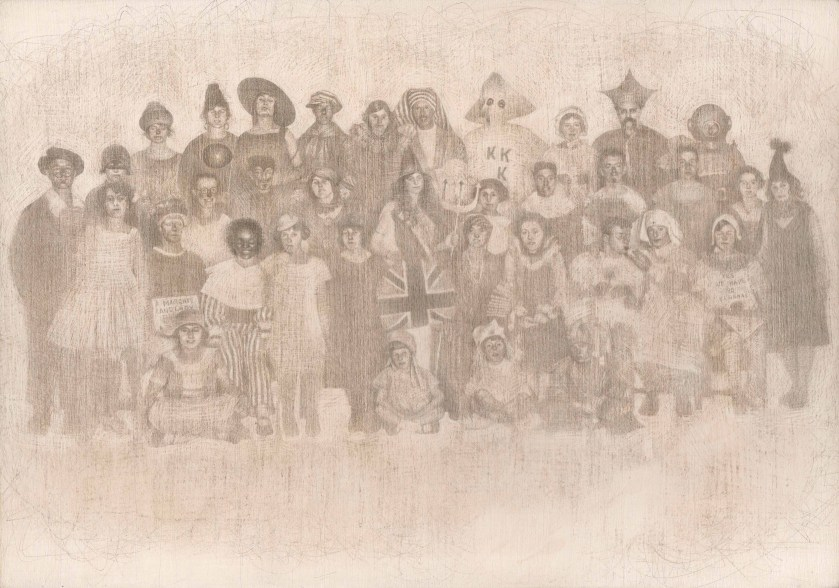 margate-people-postcard-1930s-silverpoint-drawing